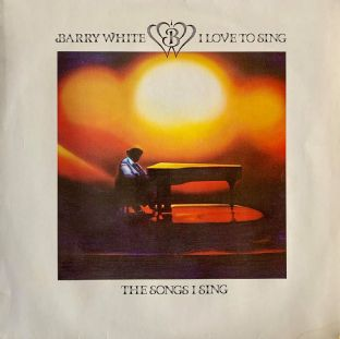 Barry White ‎- I Love To Sing The Songs I Sing (LP) (VG-/VG-)